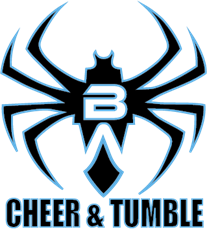 Black Widow Cheer Gym